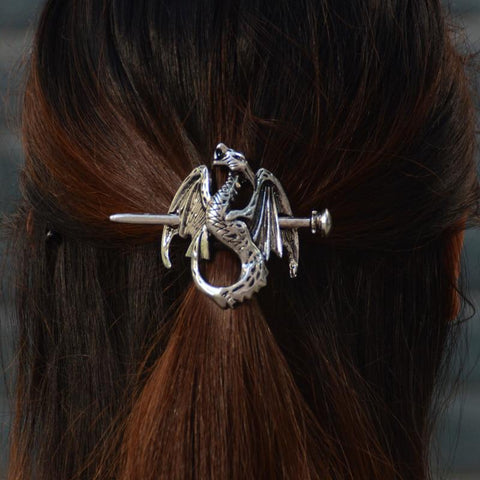 Viking Renaissance Dragon Hair Stick