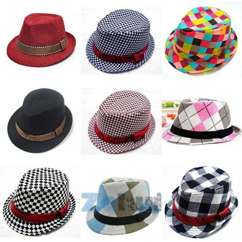 Jazz Toddler Fedora Hats