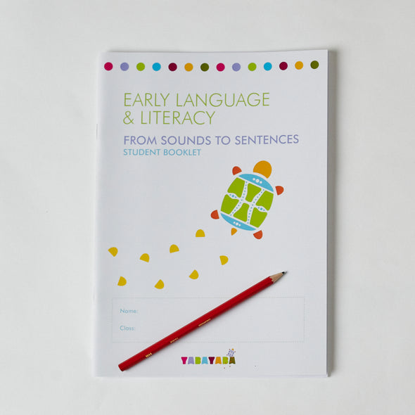 Early Language & Literacy Program: From Sounds to Sentences Student Booklet