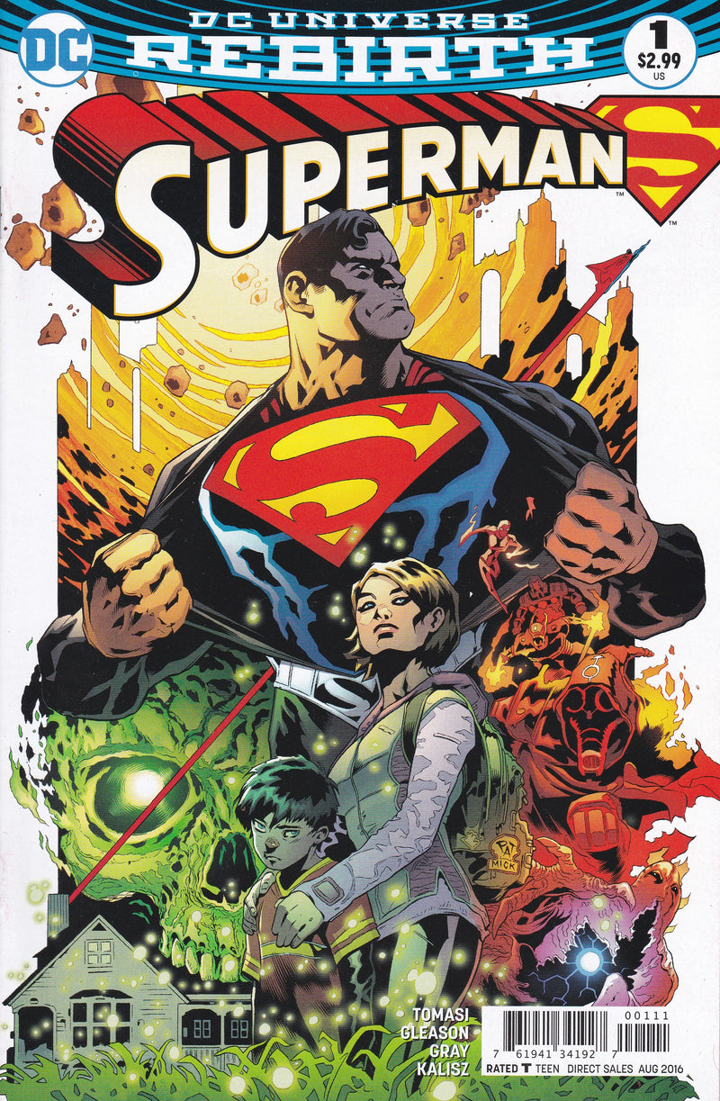 Superman #1 Vol. 4