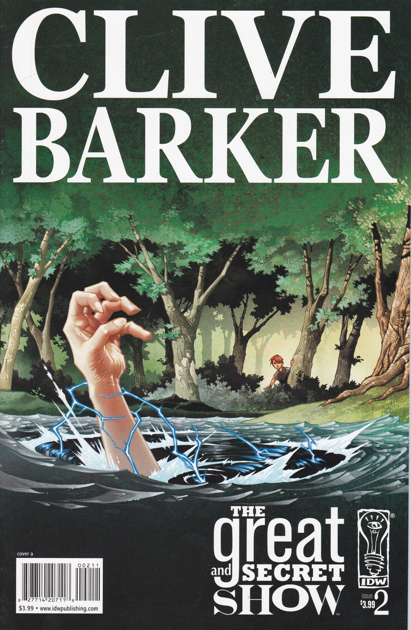 Clive Barker's The Great and Secret Show #2