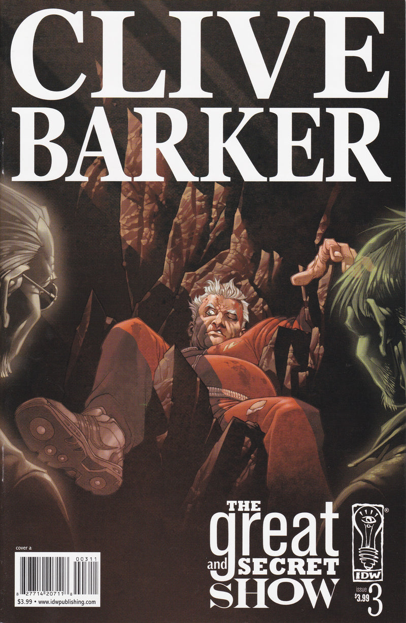 Clive Barker's The Great and Secret Show #3
