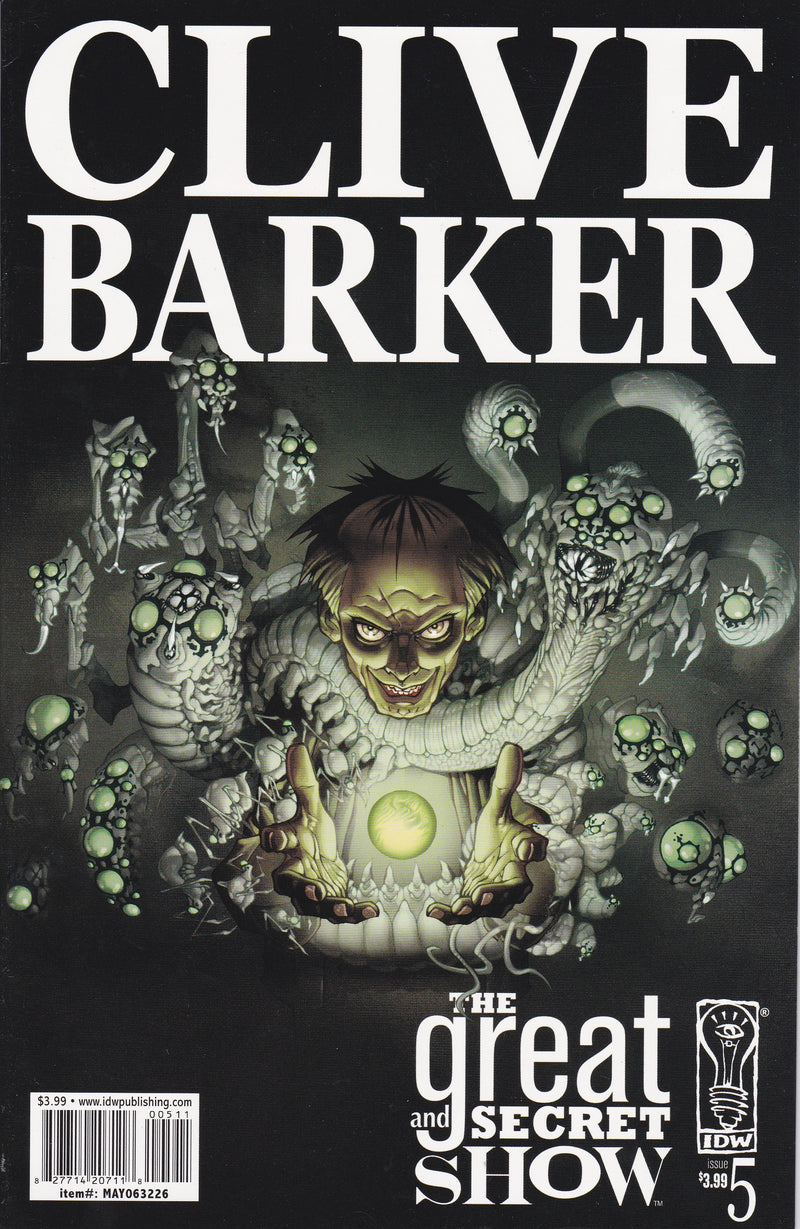 Clive Barker's The Great and Secret Show #5