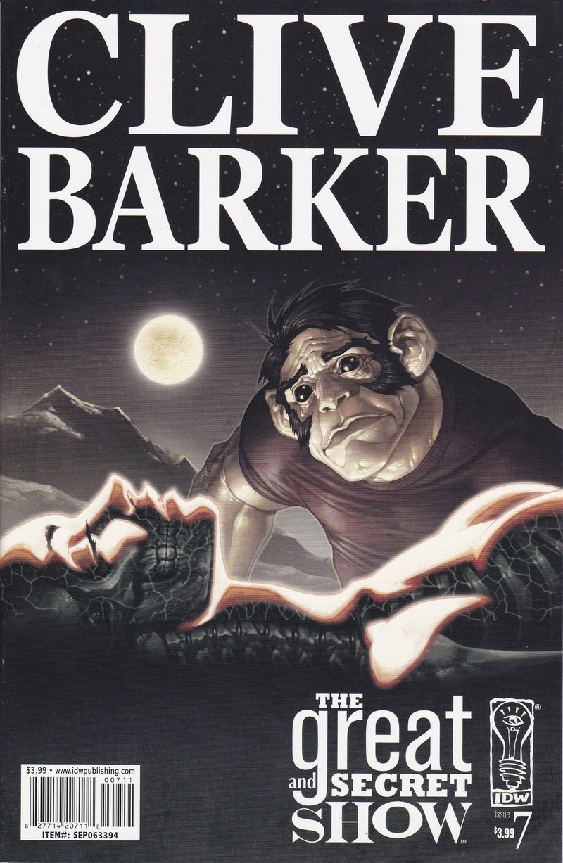 Clive Barker's The Great and Secret Show #7