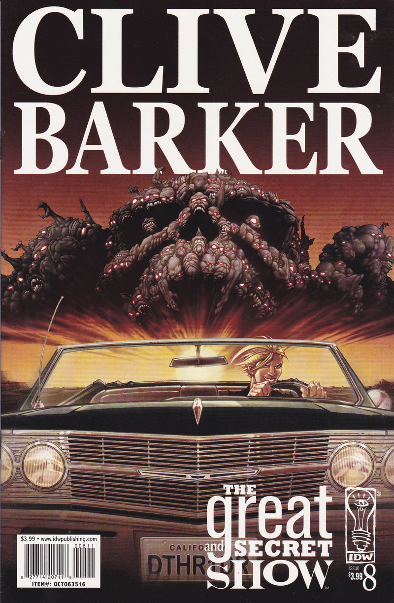 Clive Barker's The Great and Secret Show #8