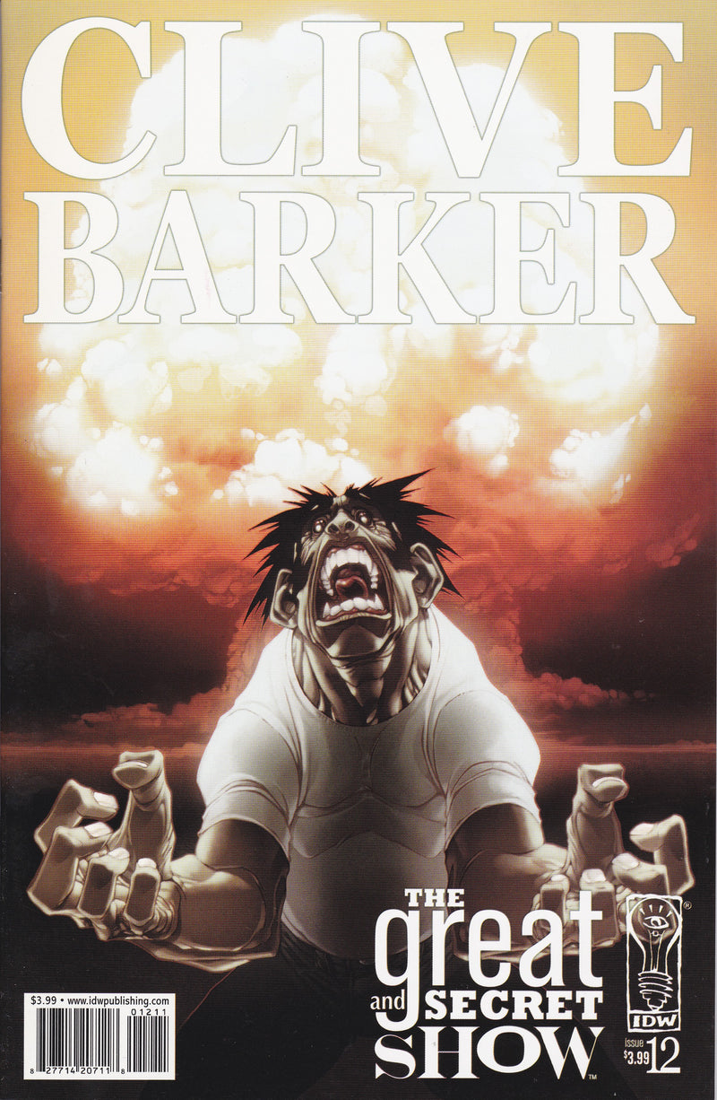Clive Barker's The Great and Secret Show #12