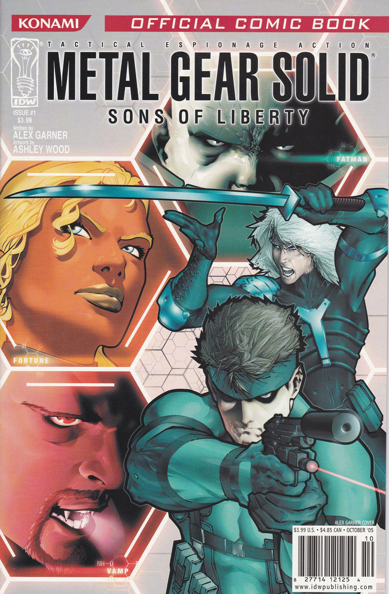 Metal Gear Solid: Sons of Liberty #1