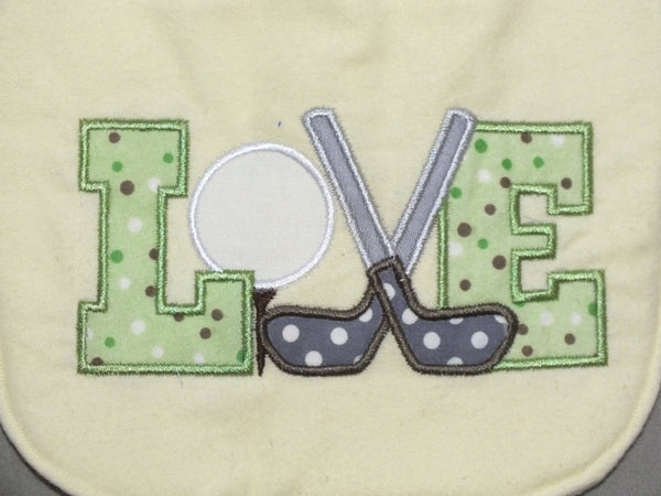 Baby boy Golf bib