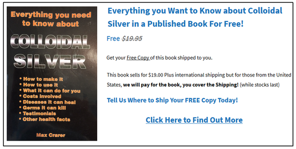 Recommended Colloidal Silver Dosage