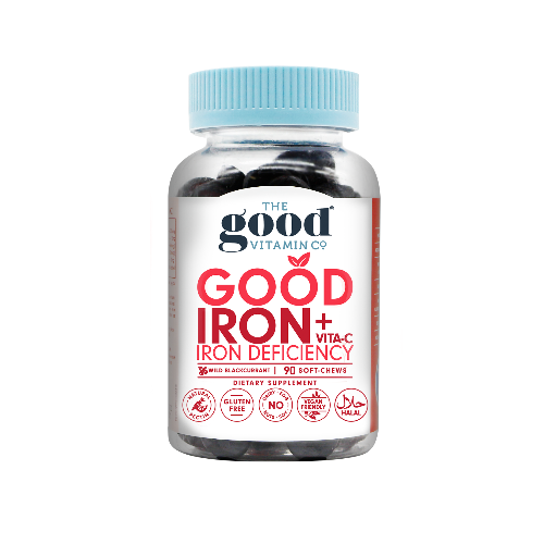 Good Iron + Vita-C Gummies
