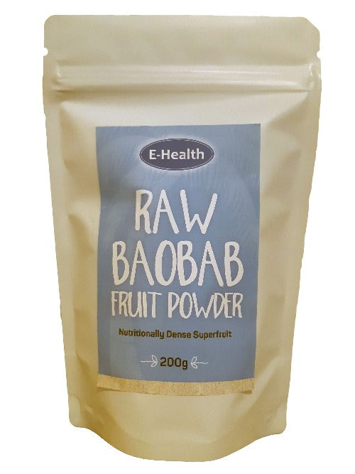 Raw Baobab Fruit Powder 200g