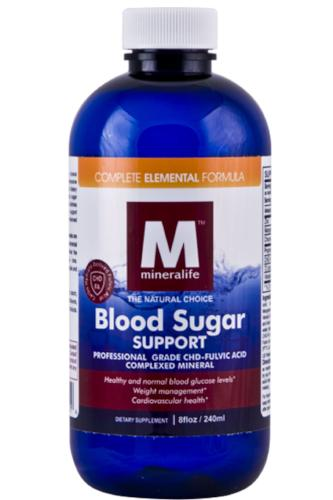 Blood Sugar Support Liquid Mineral 240ml
