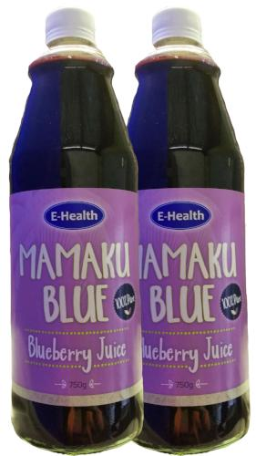 Blueberry Juice 750ml 2 Pack