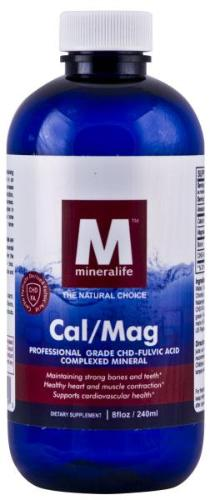 Calcium and Magnesium Liquid Mineral 240ml