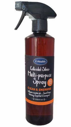 Clean & Energise Colloidal Silver Multi Purpose Spray 500ml