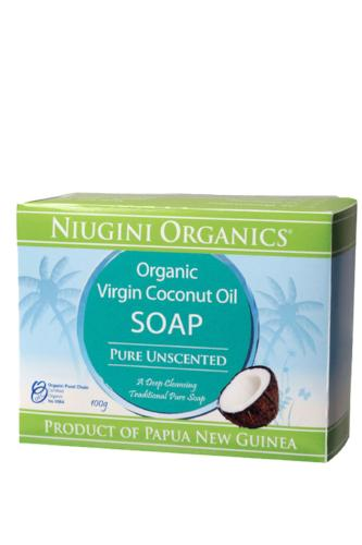 Coconut Oil Soap - Unscented