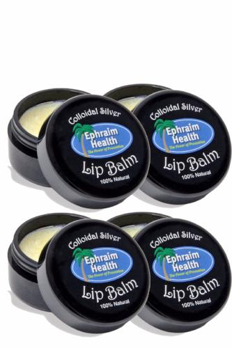 Colloidal Silver Lip Balm 4 Pack