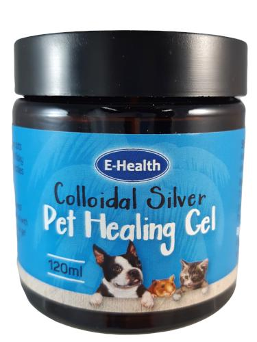 Colloidal Silver Pet Healing Gel 120ml