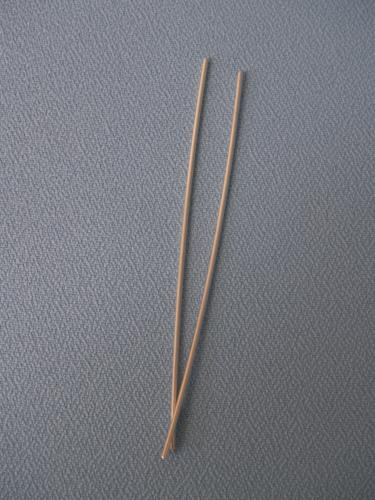Silver Rods - Pair