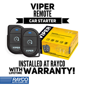 Viper Remote Car Starter W/ Unlocking INSTALLED