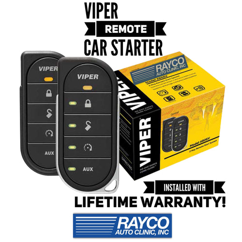 Viper LED 2-Way Remote Car Starter W/ Lock & Unlock INSTALLED