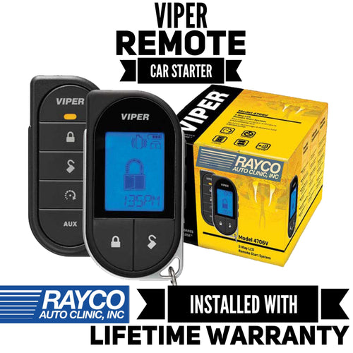 Viper LCD 2-Way Remote Start System INSTALLED