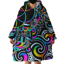 Load image into Gallery viewer, IN STOCK -  Blanket Hoodie - Psychedelic