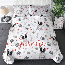Load image into Gallery viewer, Customised French Bulldog Quilt Cover Set - Various Styles