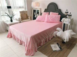 Fluffy Lambswool Quilt Cover Only or with Pillowcases - Baby Pink