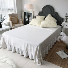 Load image into Gallery viewer, Fluffy Faux Lambswool Quilt Cover Only or with Pillowcases - Cream