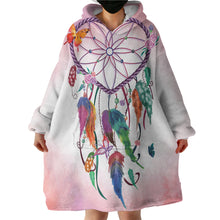 Load image into Gallery viewer, Blanket Hoodie - Heart Dreamcatcher