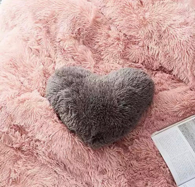 Fluffy Velvet Cushion and Pillowcases