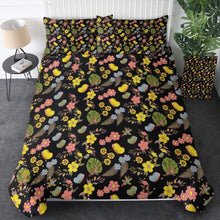 Load image into Gallery viewer, 100% Cotton - Night Garden Quilt Cover Set