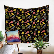 Load image into Gallery viewer, Night Garden Wall Tapestry