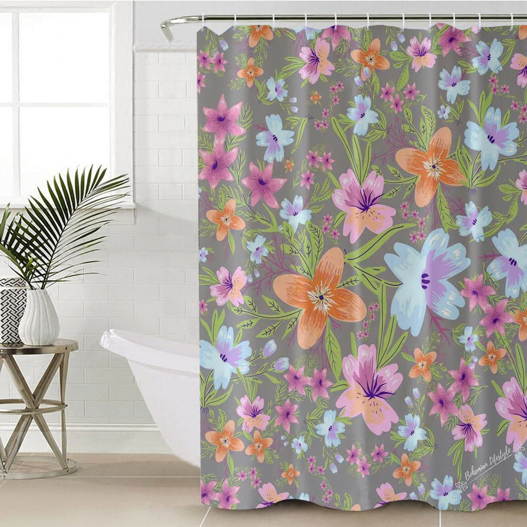 Jasmin Shower Curtain Waterproof