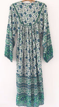 Load image into Gallery viewer, Olive Indian Dress Long Sleeve