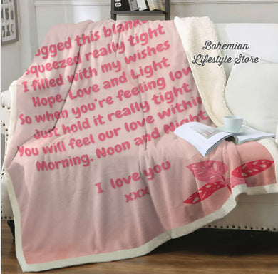 Customised Nanna Throw Blanket