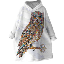 Load image into Gallery viewer, Blanket Hoodie - Owl