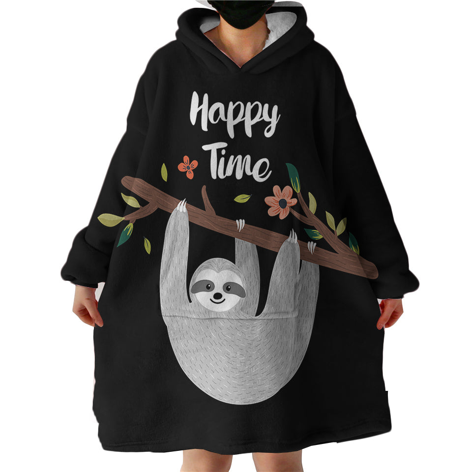 IN STOCK - Blanket Hoodie - Sloth