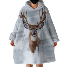 Load image into Gallery viewer, Hoodie Blanket - Deer
