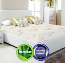 Load image into Gallery viewer, Bamboo Mattress Protector