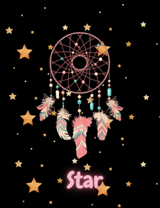 Customised Throw Blanket - Dream Catcher Star