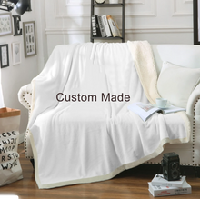 Load image into Gallery viewer, Make your Own Customised Throw Blanket