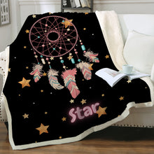 Load image into Gallery viewer, Customised Throw Blanket - Dream Catcher Star
