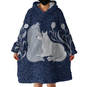 Blanket Hoodie - Wolf Love (Made to Order)