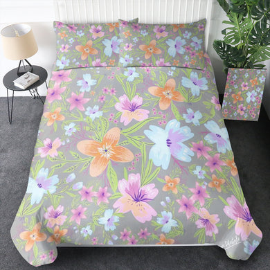 100% Cotton - Jasmin Quilt Cover Set