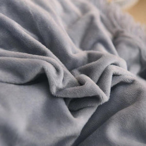 EXPRESS POST Newcastle Stock - Velvet Fleece Fitted Sheet