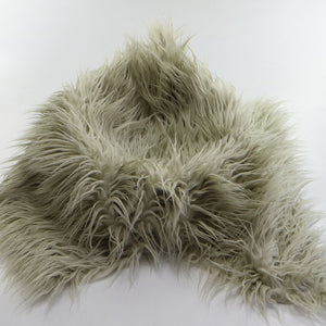 Faux Fur Flokati Throw