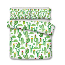 Load image into Gallery viewer, Cactus Party Duvet Cover Set