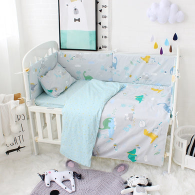 Little Dinosaur 3Pcs Baby Bedding Set - 100% cotton